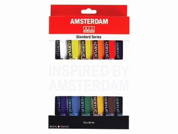 Amsterdam acrylverf 12x20ml
