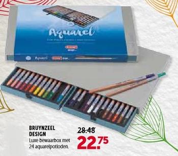 Bruynzeel Design aquarelpotloden