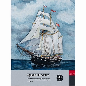 Aquarelblok 30x40cm
