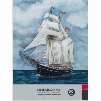 Aquarelblok 24x32cm