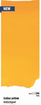 Indian yellow