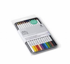 Aquarelpotloden W&N 12 kleuren