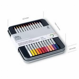 Kleurpotloden W&N 24 kleuren