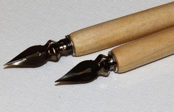 Kroontjespen blank hout
