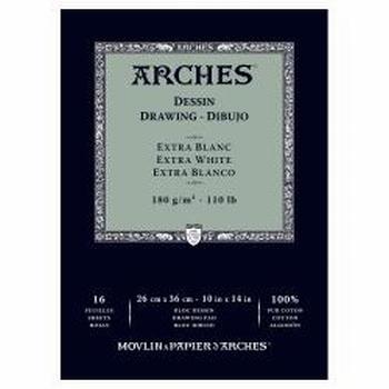 Arches tekenpapier Extra wit