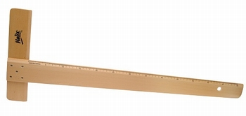 T-Liniaal hout 65CM