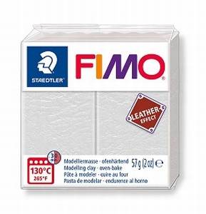 Fimo leather Ivoor
