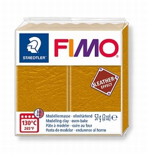 Fimo leather Okergeel