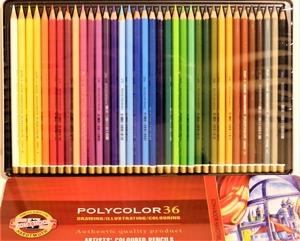 Polycolor kleurpotloden 36 kleuren