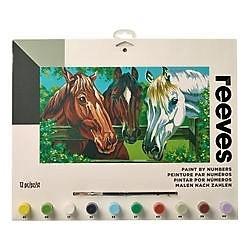 3 paarden