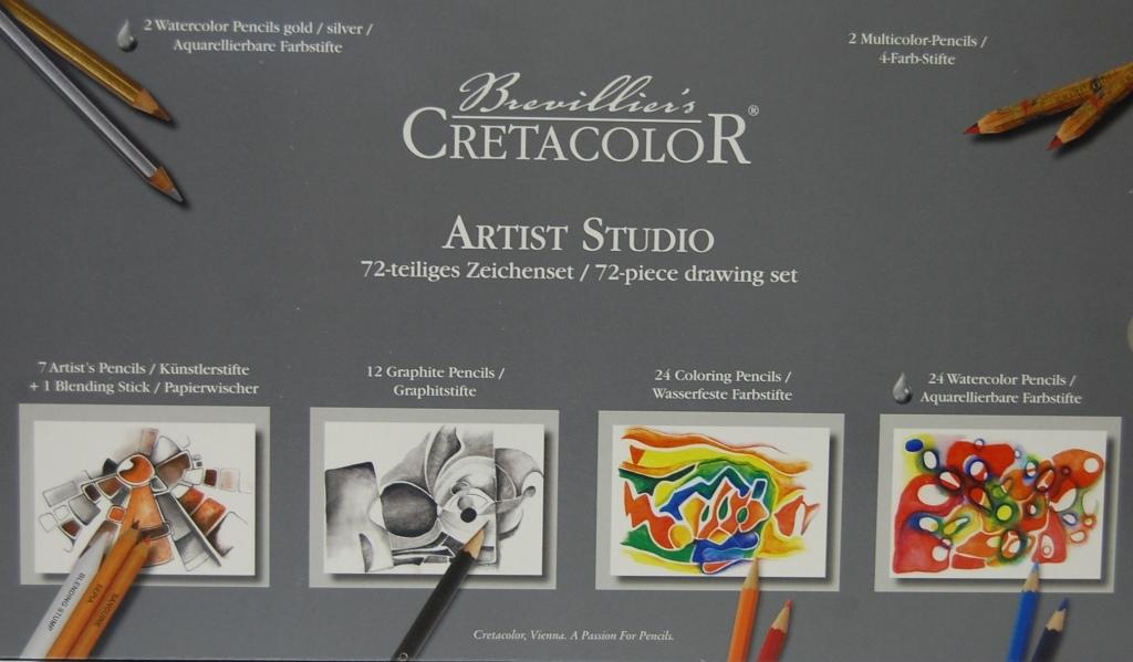 Artist studio-tekenset