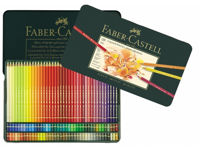 Faber-Castell-polychromos 120 kleuren