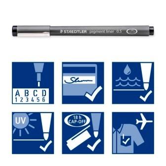 Fineliner-set 4+2 gratis-Staedtler
