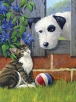 Kat en hond NIEUW