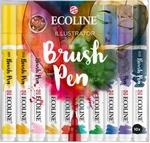 Ecoline brushpen set ilustra