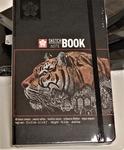 Sketch book zwart papier 13x21cm