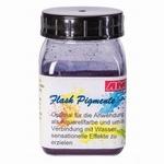 flash pigment blauw