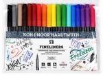 Fineliner set 18 kleuren