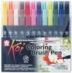 Koi brushpen 12 kleuren