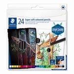Kleurpotloden soft 24 kleuren