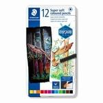 Kleurpotloden Super soft 12 kleuren