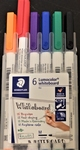 Whiteboard markers 6 delig