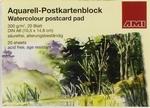 Aquarel postkaart blok