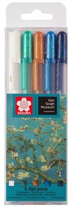 Gelly pen set van Gogh kleuren