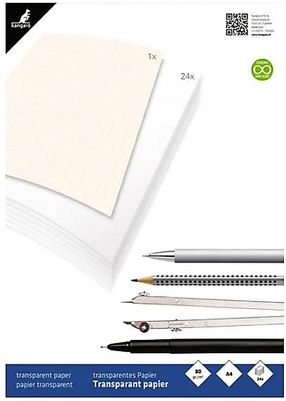 Transparant papier A4