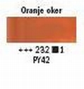 oranje oker licht