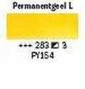 permanent geel licht