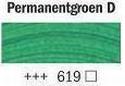 Permanent groen donker 40 ml