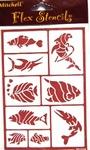 sjabloon vissen  per stuk