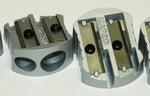 Puntenslijper aluminium dubbel gat per stuk