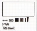 Titaanwit 75 ml tube