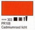Cadmiumrood licht 75 ml tube