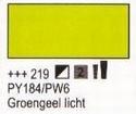 Groengeel licht 75 ml tube