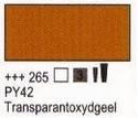 Transparant oxyde geel