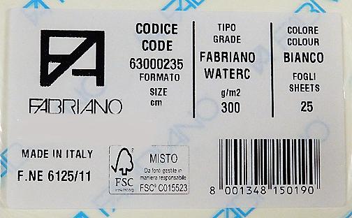 Aquarelpapier 50x70cm