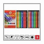 Kleurpotloden a 24 kleuren