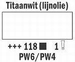 Titaanwit-lijnolie