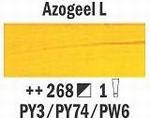 Azogeel licht