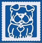 Sjabloon Bulldog