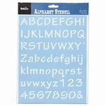 Letters & cijferjabloon