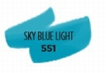 Sky blue light 551