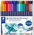 Penseelstfiten set 36 kleuren