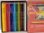 Supracolor Aquarelpotloden 18 kleuren