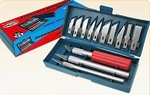 Scalpel-hobby messen set