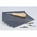 Linoleum plaat soft 10x15cm