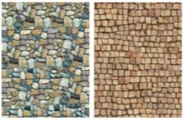 Vario karton natuursteen motief